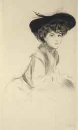 Etude de Femme au Chapeau
