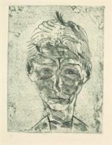 Das Gesicht - Neun Radierungen, Euphorion Verlag, Berlin, 1924 (Eckhardt 155-163; Rifkind 845; Hoh 1041-1049; Schick & Müller 38)