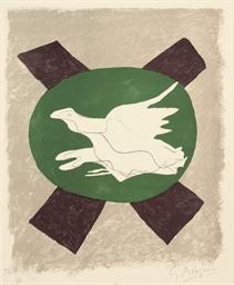 Oiseau sur Fond de X (V. 122)