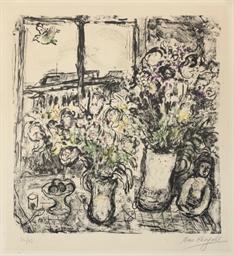 Fleurs devant la Fenêtre, Pari