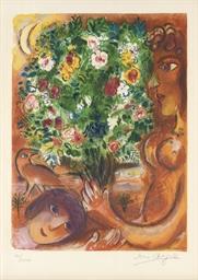 Femme au Bouquet, from Nice et
