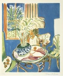 Petit Interieur bleu (D.-M. Ap