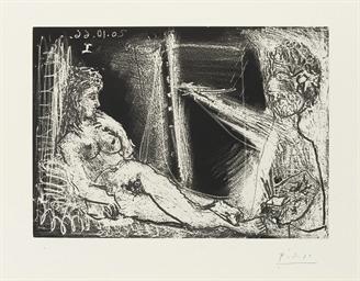 Peintre et son Modèle, from Sé