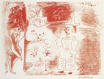L'Écuyére et les Clowns (B. 84
