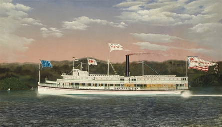 The Steamboat Daniel S. Miller