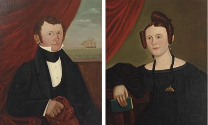 Two Portraits: Captain Joseph