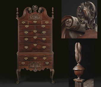 The Biddle Drinker Family Chippendale Carved And Figured