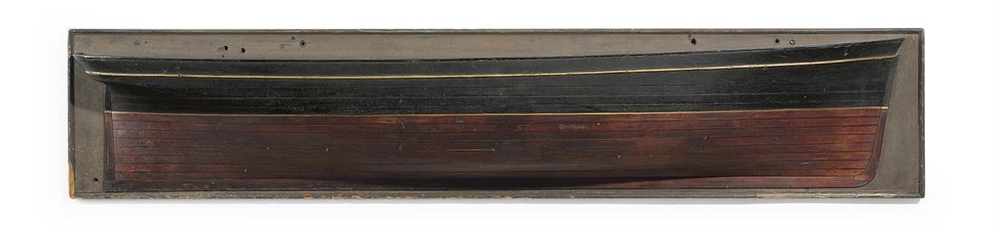 A large half block model of a