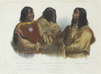 Chief of the Blood-Indians, fr