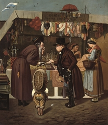 Bartering at the market