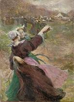 Les danceuses Bretonnes
