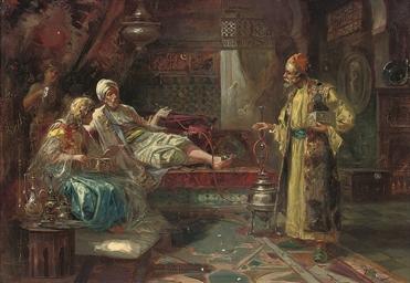 The jewellery seller