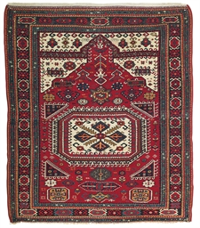 A SOUTH CAUCASIAN PRAYER RUG