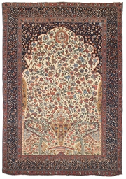 A FEREGHAN PRAYER RUG