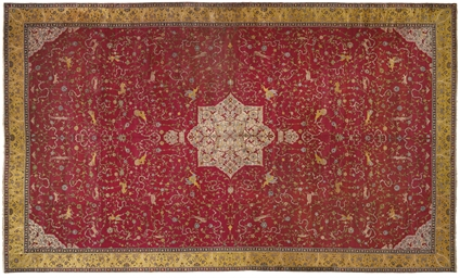 A MASSIVE AGRA CARPET