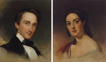 Mr. and Mrs. Montgomery Blair: A Pair of Portraits