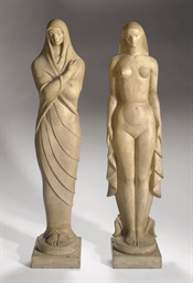 Winter and Summer: Two Sculptu