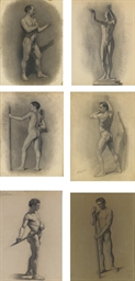 Male Figure Studies: Six Works