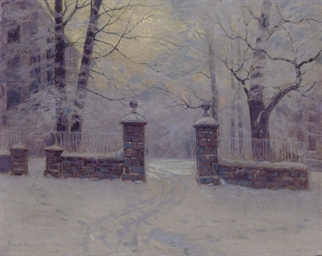 Cathedral Gates in Winter