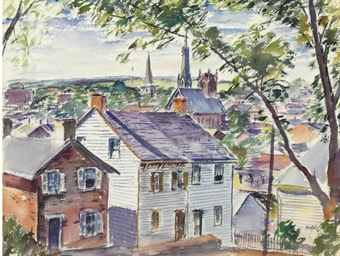 View of Lambertville, New Jers
