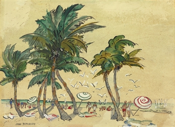 Palm Beach Scene, Florida
