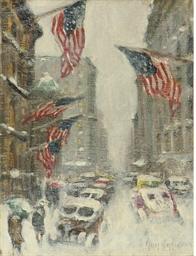 Madison Avenue, Winter