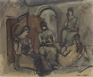 Four Women in an Interior