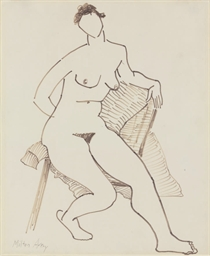 Nude and Drape