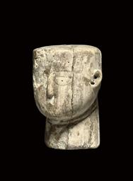 A PARTHIAN IVORY HEAD