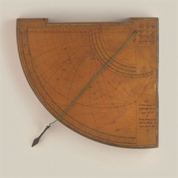 A fine astrolabic quadrant