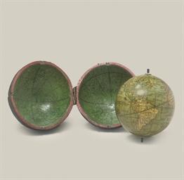 A 2¾-inch pocket globe