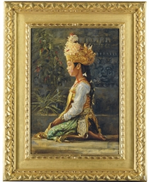 Legong Dancer, Bali