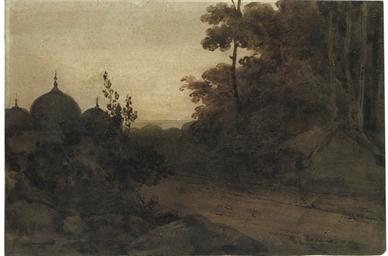 A Bengal landscape, dusk