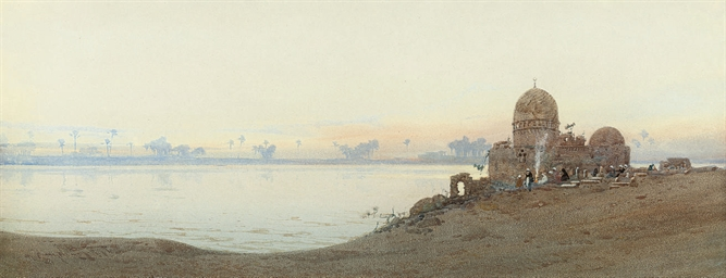 A Sheik's tomb on the Nile