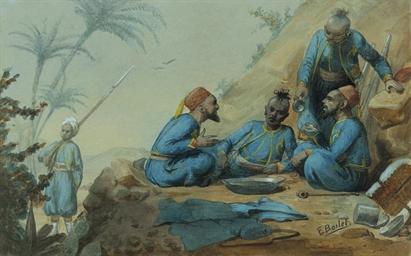 Zouaves; and Tirailleures Algé
