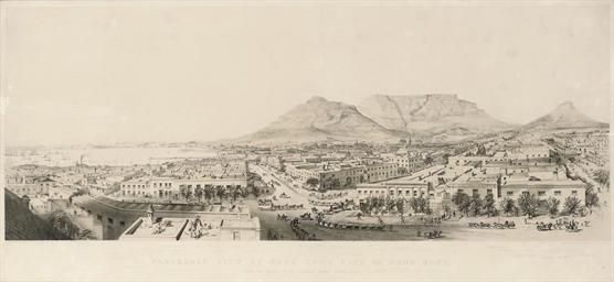 Panoramic View of Cape Town, C