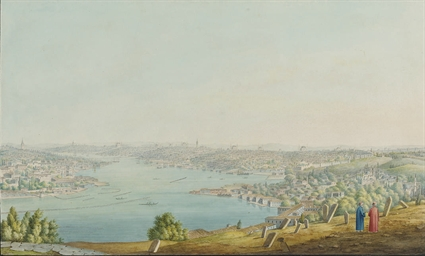 Constantinople from Eyoub