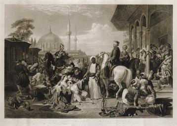 The Slave Market, Constantinop