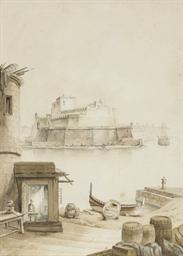 The Fort of St Angelo, Vallett