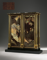 A FRENCH ORMOLU-MOUNTED EBONY,