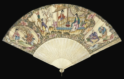 A CHINOISERIE FAN