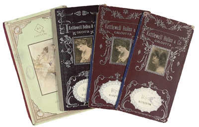 A GROUP OF PATTERN BOOKS