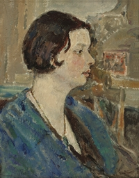 Portrait of Flora Thomas