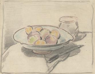 A platter of fruit