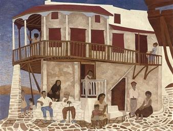 A Mediterranean villa