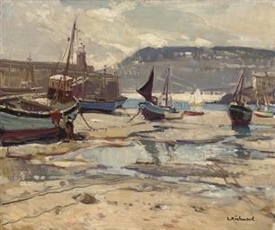 St Ives Harbour at Low Tide
