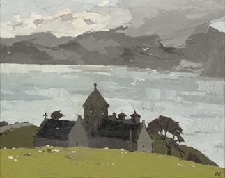 Penmon Priory, Anglesea (verso