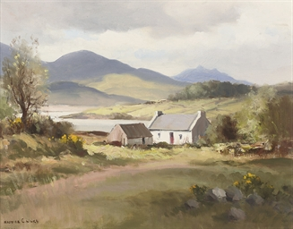 Landscape near Ballykinlar, Co