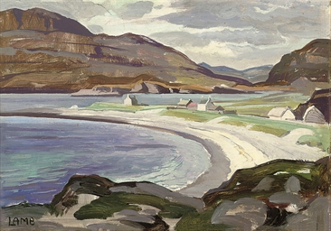 Coastal village, Sligo