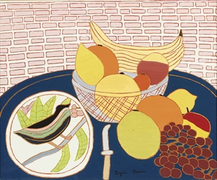 Fruit and Bird Plate